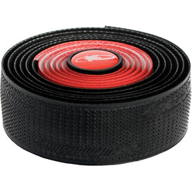 Lizard Skins DSP Dual Nastro per manubrio 2,5mm, red/black